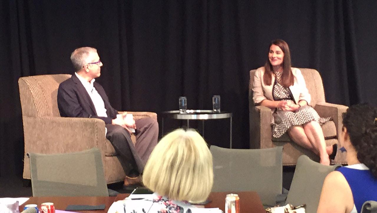 David Wertheimer and Melinda Gates